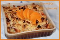 Crumble à l'abricot : Etape 4