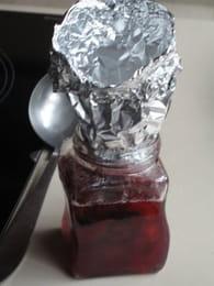 Confiture de prunes rouges : Etape 1