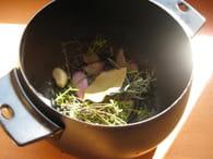 Fondue vigneronne et ses petites sauces : Etape 1