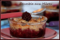 crumble express aux mures