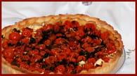 Tarte aux tomates cerises et chèvre frais : Etape 5