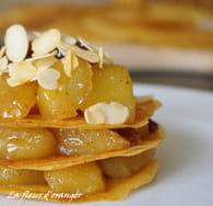 Pastilla aux pommes caramélisées : Etape 3