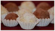 Truffes au chocolat blanc et noix de coco : Etape 3