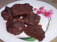 Cookies tout chocolat aux éclats de noisettes : Etape 2