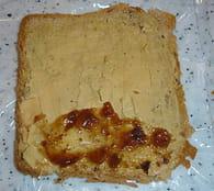 Toasts roulés foie gras et figues : Etape 1