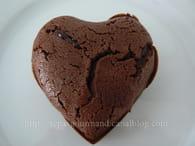 Coeur fondant au chocolat coulant : Etape 2