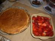 Tarte aux fraises fraîches : Etape 3