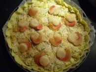 tarte pimentee aux noix de saint jacques