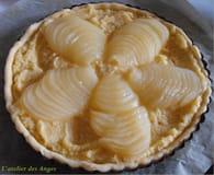 Tarte amandine aux poires et crème d'amandes : Etape 2
