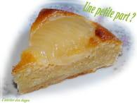 Tarte amandine aux poires et crème d'amandes : Etape 3
