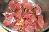 Coeur de boeuf aux carottes : Etape 2