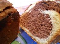 Cake marbré très moelleux sans levure : Etape 3