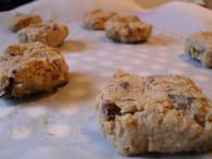 Cookies avoine, noix de pécan et chocolat au lait : Etape 3