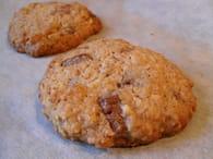 Cookies avoine, noix de pécan et chocolat au lait : Etape 4