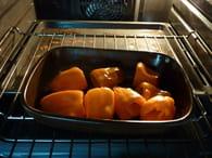 Petits poivrons farcis au fromage : Etape 2