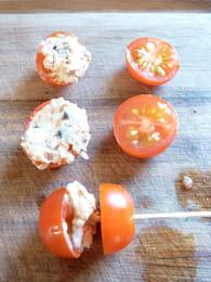 Sucettes tomate fraicheur : Etape 3