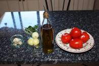 Coulis de tomates fraîches : Etape 1