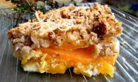 Gratin de courge butternut et patate douce : Etape 3