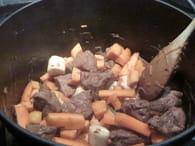 Ragoût de joue de porc aux légumes : Etape 2