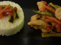 Wok de poulet aux légumes : Etape 4
