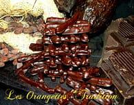 Orangettes au chocolat noir et amandes : Etape 6