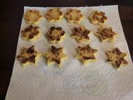 Canapés de polenta saveur du sud : Etape 2