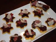 Canapés de polenta saveur du sud : Etape 3
