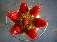 Verrine fraise mascarpone spéculos : Etape 5