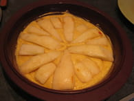 Gâteau poire-amande : Etape 3