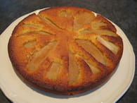 Gâteau poire-amande : Etape 4