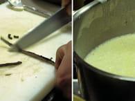 Pomme d'automne en pâte brisée, sauce vanillée : Etape 5