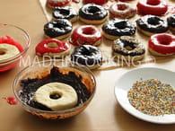 Donuts au four : Etape 4