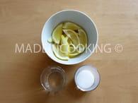 Citrons confits express : Etape 1