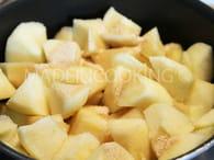 Compote de pommes maison : Etape 1