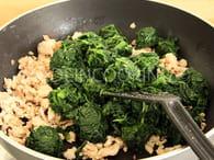 Lasagnes au saumon et aux épinards : Etape 2