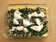 Lasagnes au saumon et aux épinards : Etape 3