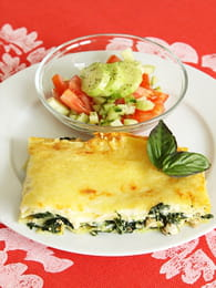 Lasagnes au saumon et aux épinards : Etape 4