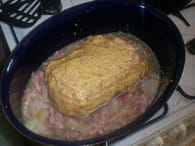 Rôti de porc farci aux tomates séchées : Etape 3