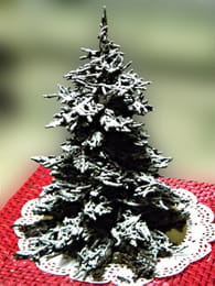Sapin de Noel en chocolat : Etape 4