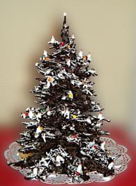Sapin de Noel en chocolat : Etape 6