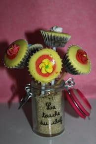 Cupcakes de fêtes : Etape 1