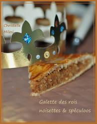 Galette des rois noisettes & spéculoos : Etape 6