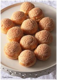 Choux craquelins à la crème pâtissière : Etape 5