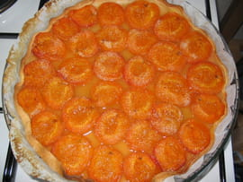 Tarte  l abricot