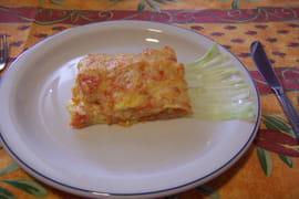 Lasagnes aux poireaux et potiron