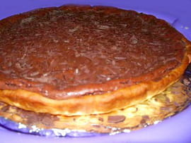 Tarte au chocolat de grand-m�re