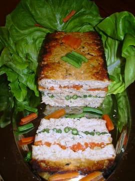 terrine de saumon carottes et haricots verts la recette facile. Black Bedroom Furniture Sets. Home Design Ideas