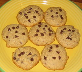 Cookies aux flocons d avoine