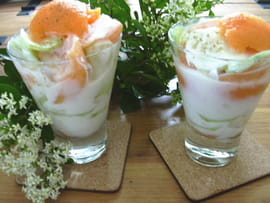 Cocktail melon et concombre
