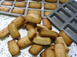Mini financiers amandes noisettes